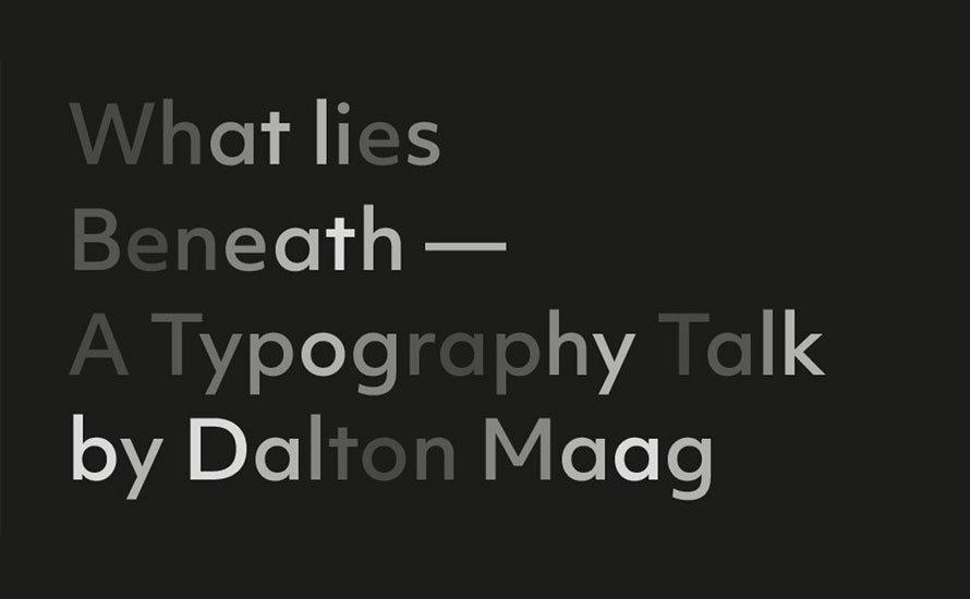 Kath's take on: What Lies Beneath by Dalton Maag