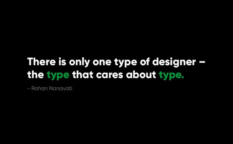 How type can define brands