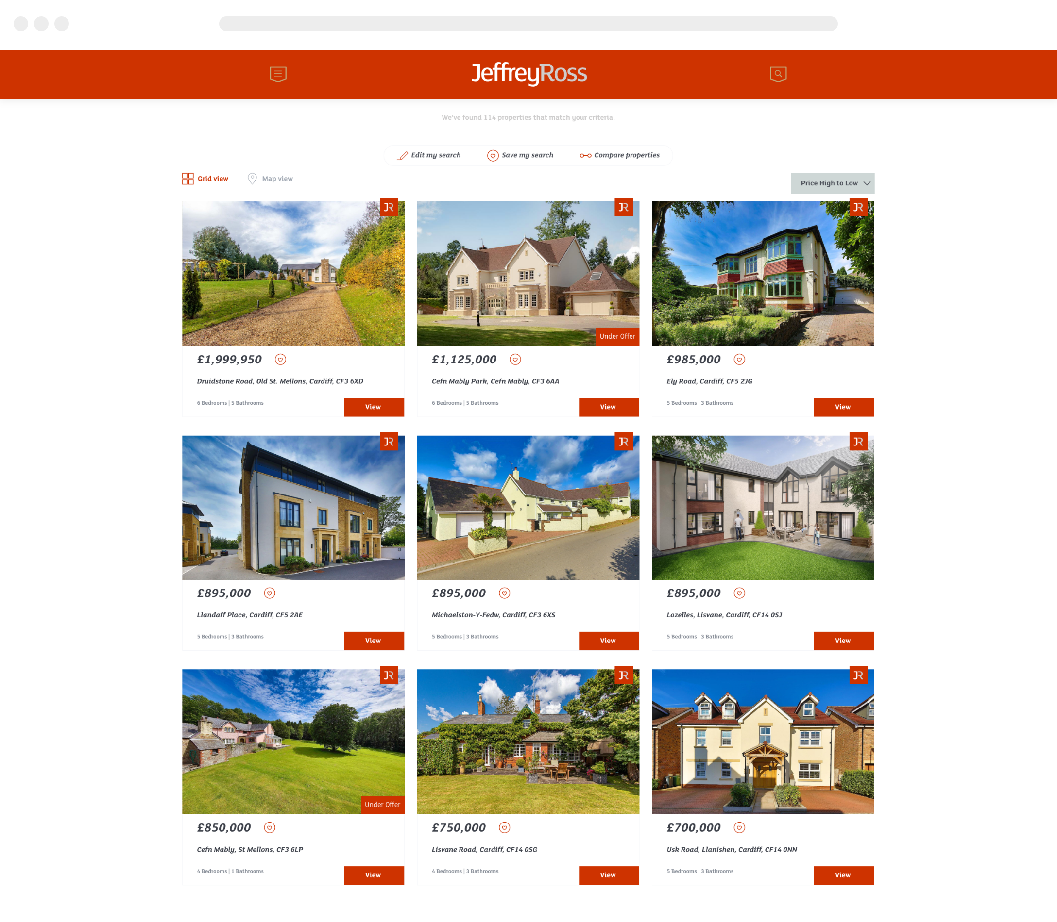 Estate Agent Website