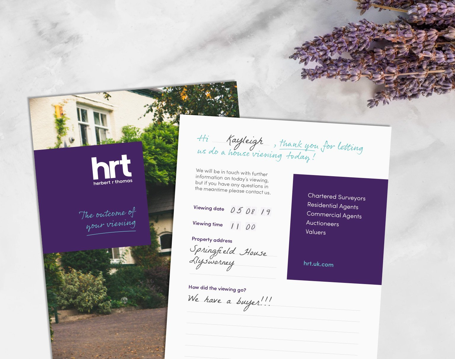 HRT Brand Design Cardiff
