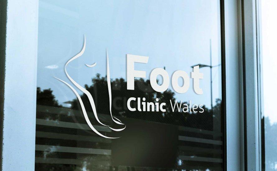 foot clinic wales branding