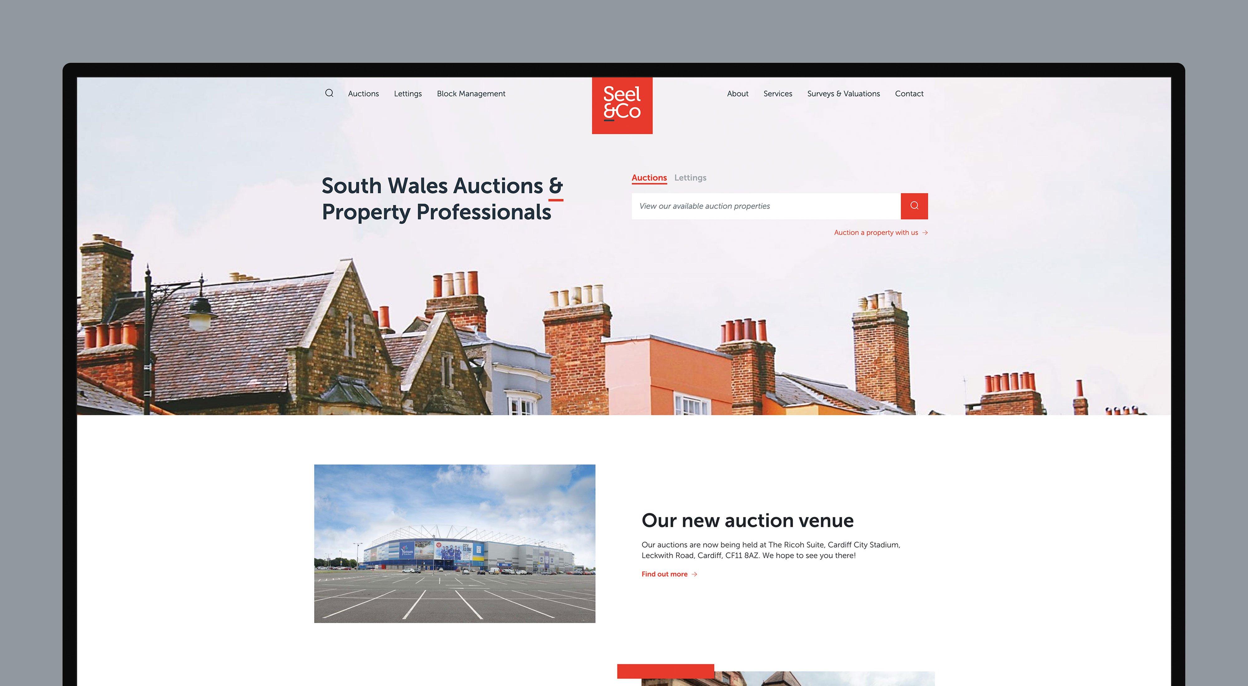 Seel & Co Website Design Cardiff
