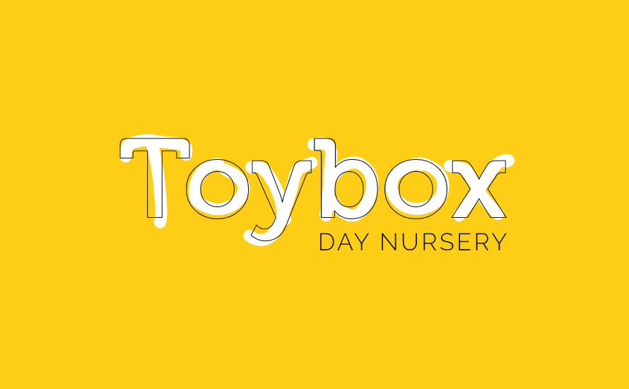 toybox day nursery branding