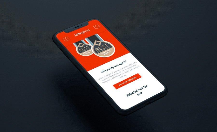 Estate Agent Website Design Cardiff