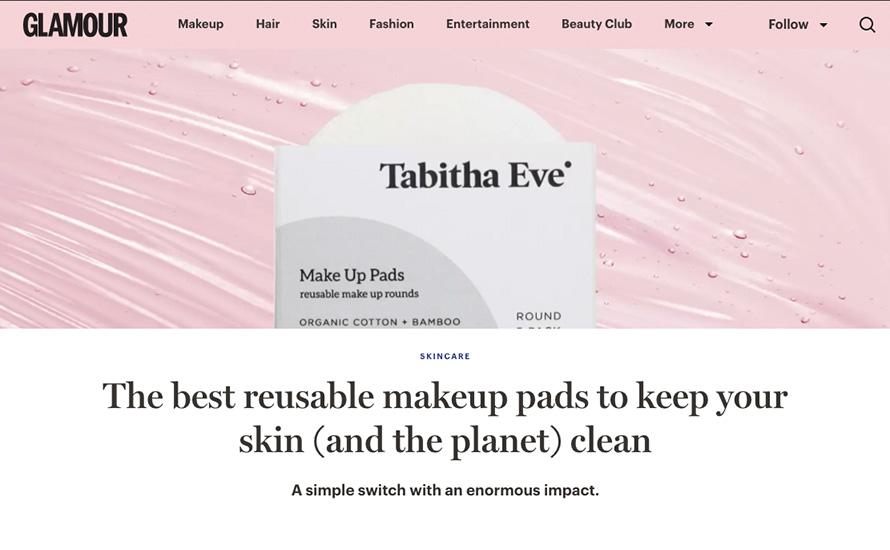 Tabitha Eve Glamour Feature