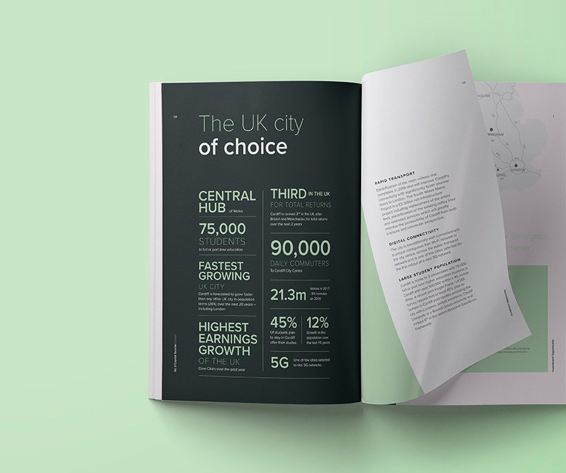 Bilingual Plan design Cardiff
