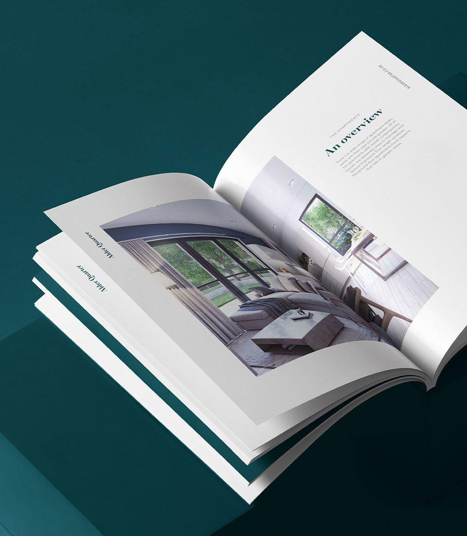 Property Brochure design cardiff