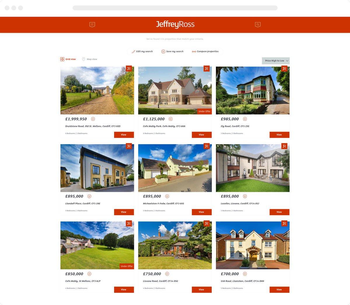 Estate Agent Website