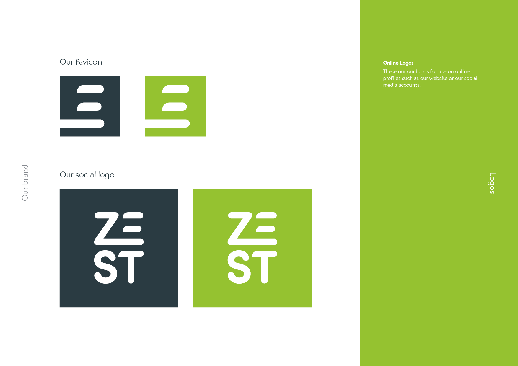 Zest Brand and Website Design